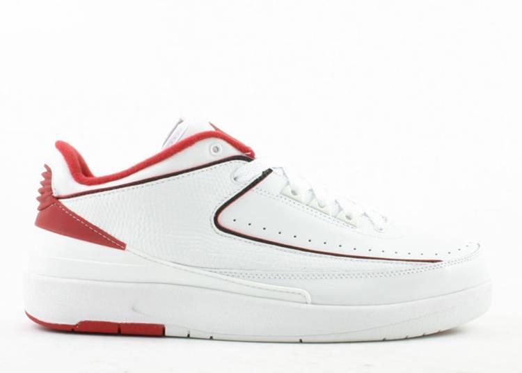 "air jordan 2 retro low ""White Varsity Red"""