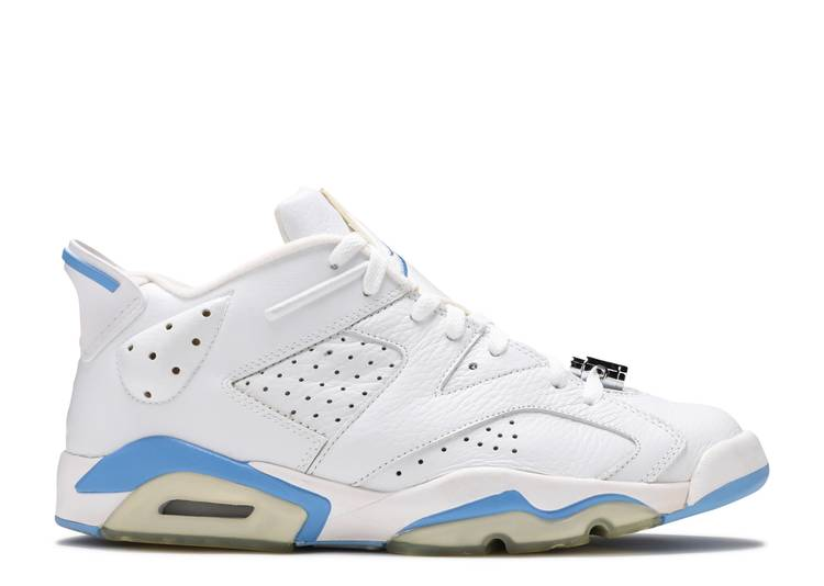 Air Jordan 6 Retro Low 'University Blue'