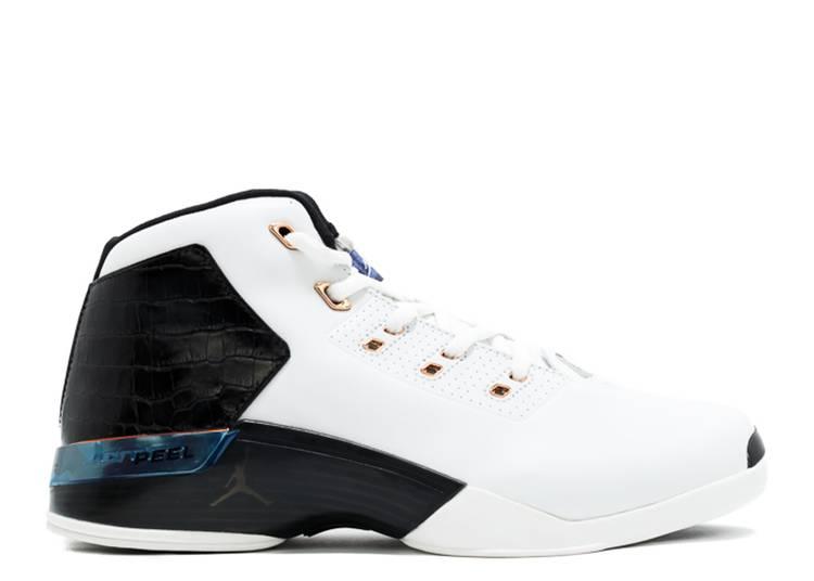 """Air Jordan 17+ OG 2002 """"White Black Metallic Copper"""""""