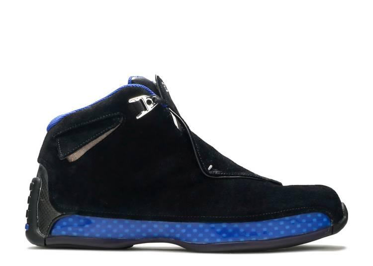 "Air Jordan 18 OG 2003 ""Black Sport Royal"""