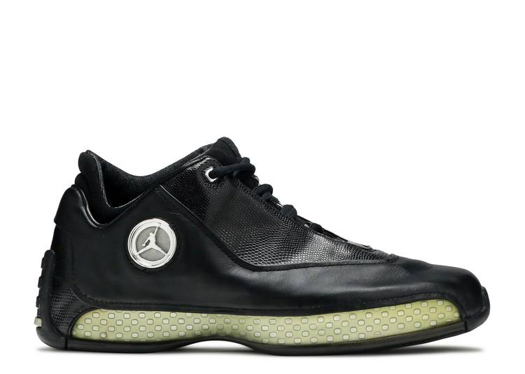 Air Jordan 18 OG Low 'Black Chrome'