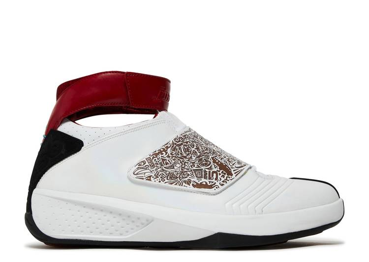 "Air Jordan 20 OG ""White Varsity Red"""