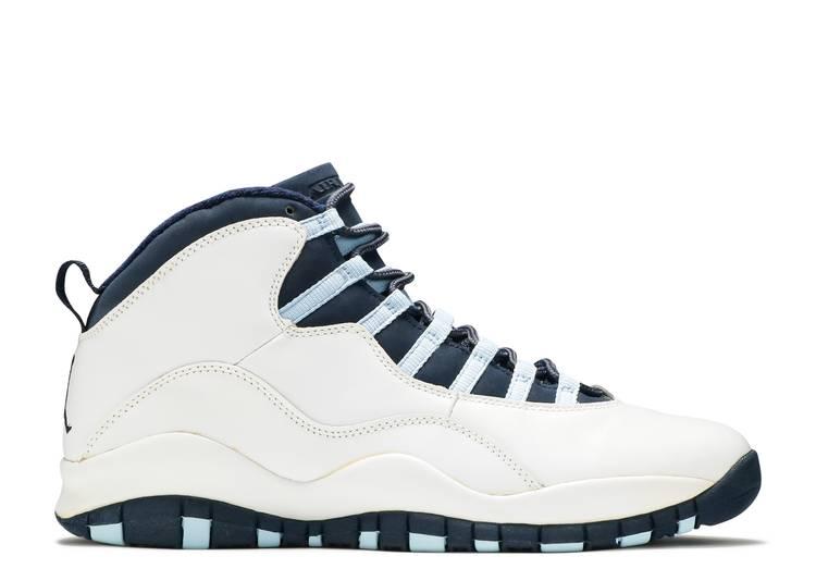 Air Jordan 10 Retro 'Ice Blue' 2005