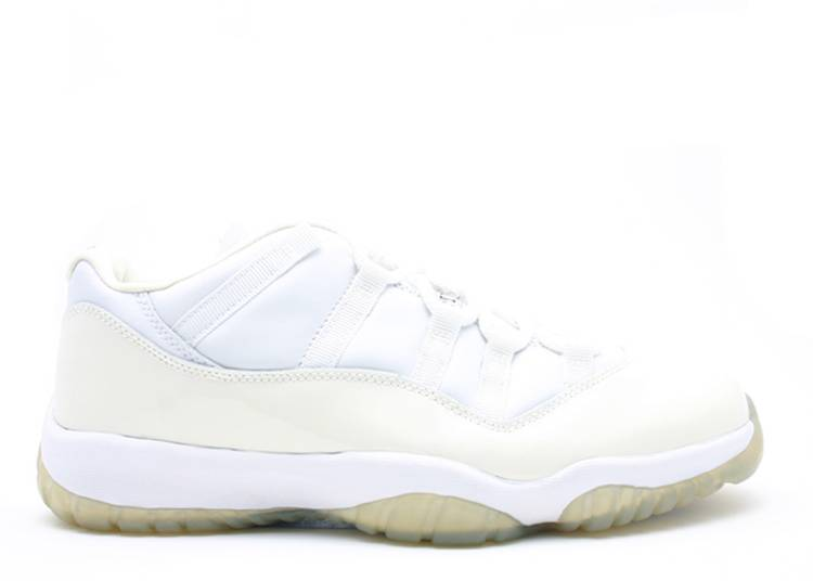 "air jordan 11 retro low ""White Light Zen Grey"""