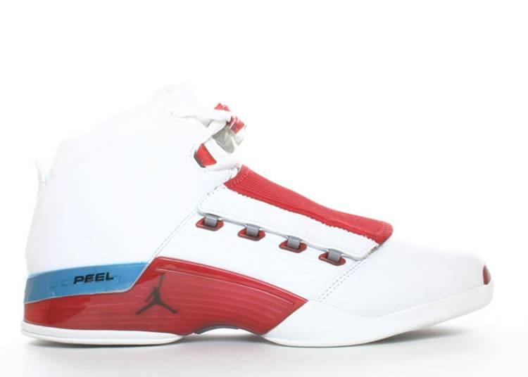 """Air Jordan 17 OG """"White Varsity Red"""""""