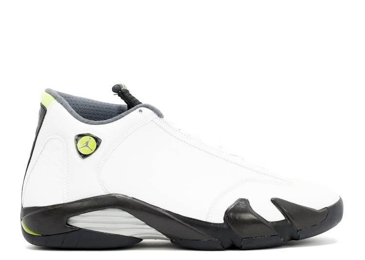"Air Jordan 14 Retro ""White Chartreuse"""