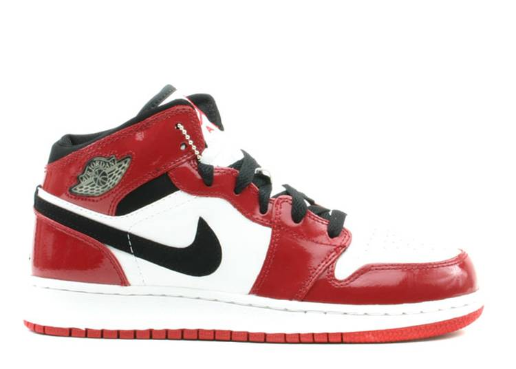 Air Jordan 1 Retro GS 'Chicago Patent Leahter'