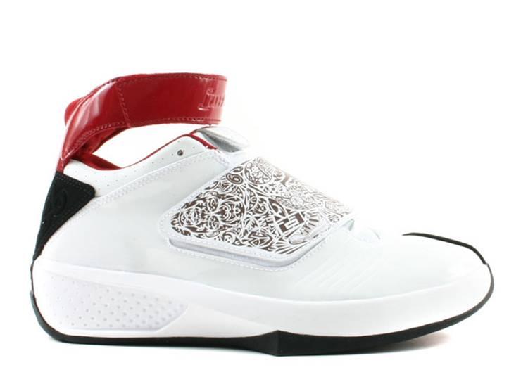 Air Jordan 20 OG GS 'White Varsity Red'