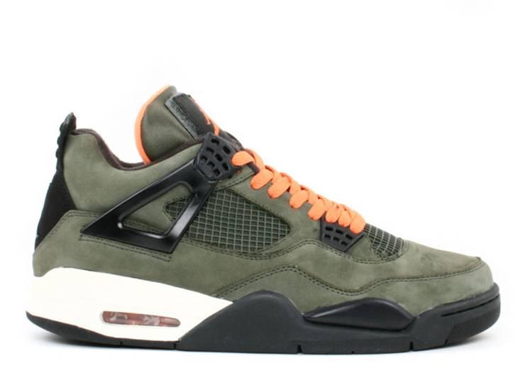 Undefeated x Air Jordan 4 Retro