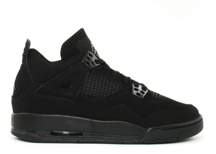 Air Jordan 4 Retro GS 'Black Cat' 2006