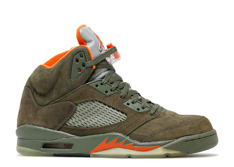 Air Jordan 5 Retro LS 'Olive'