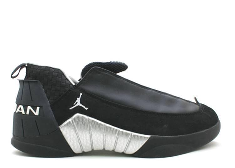 Air Jordan 15 OG Low 'Black Silver'