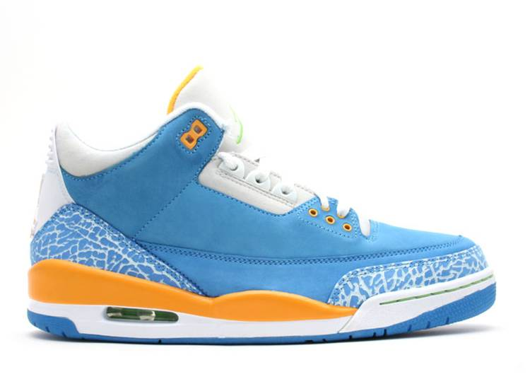 Air Jordan 3 Retro Ls Do The Right Thing Air Jordan 315297 471 Brisk Blue Radiant Green Pro Gold Flight Club