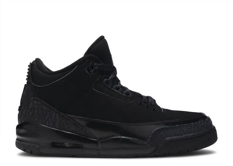 Air Jordan 3 Retro 'Black Cat'