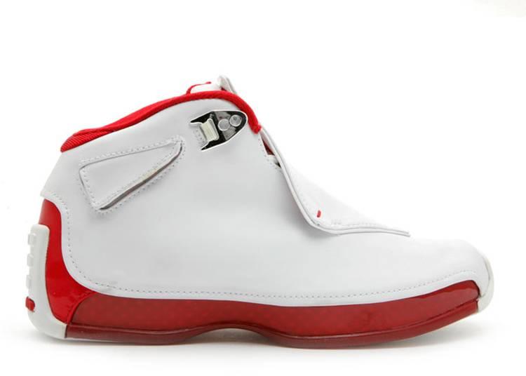 Air Jordan 18 OG GS 'Varsity Red'