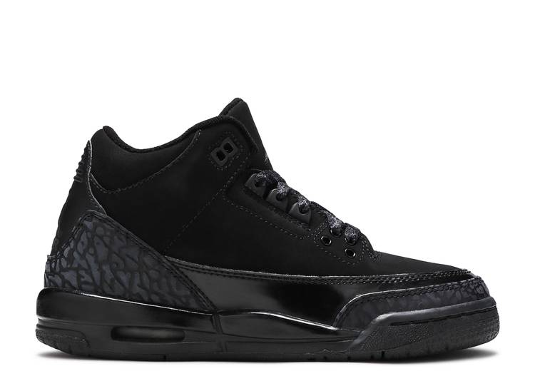 "air jordan 3 retro (gs) ""black cat"""