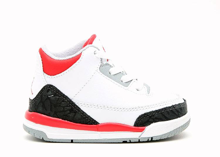 Jordan 3 Retro TD 'Fire Red' 2006