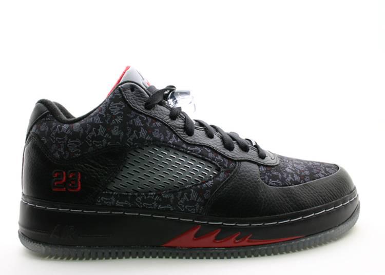 Air Jordan Fusion 5 Low 'Black'