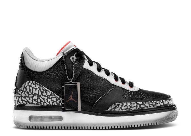 Air Jordan Fusion 3 'Black Cement'