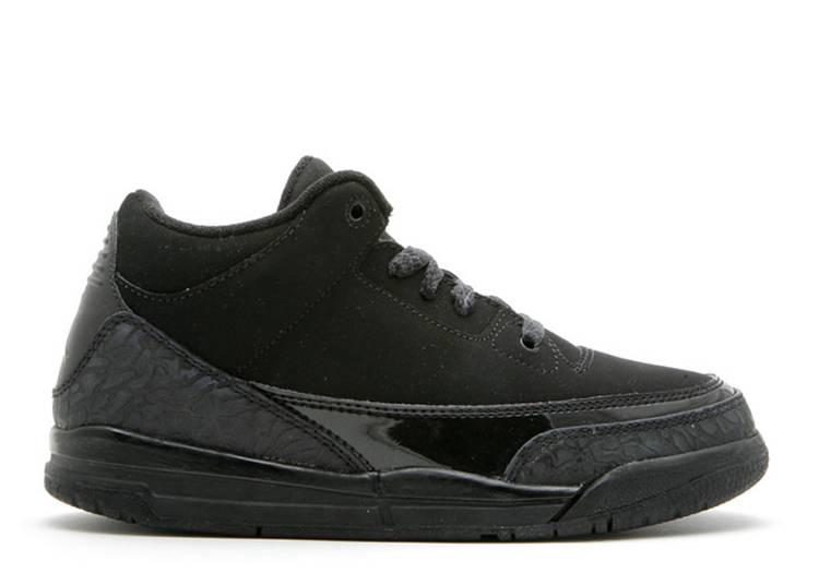 Air Jordan 3 Retro PS 'Black Cat'