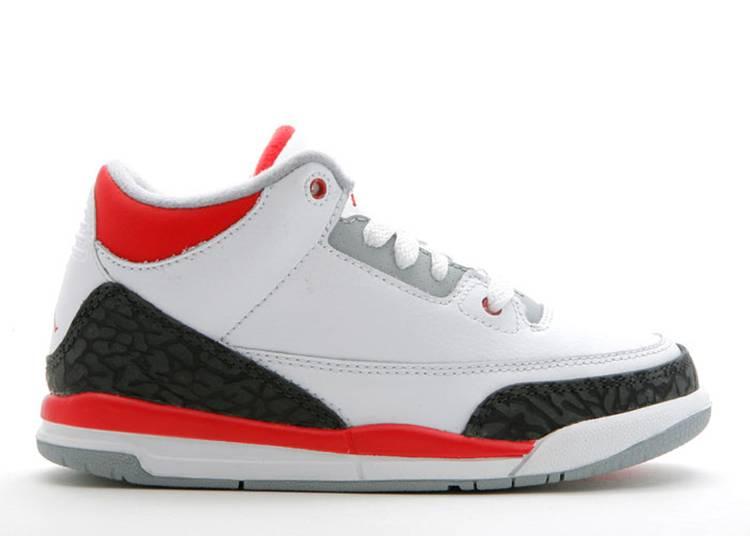 Air Jordan 3 Retro PS 'Fire Red'