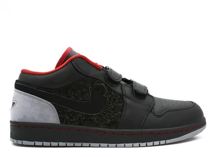 Air Jordan 1 Low Velcro 'Stealth'