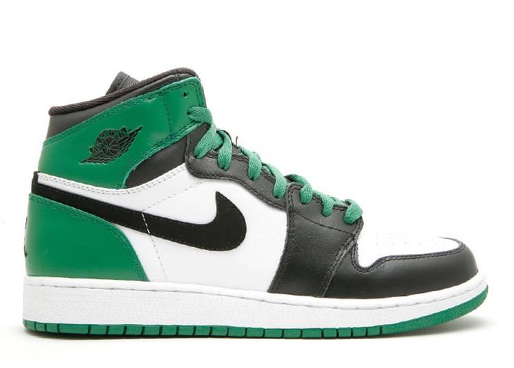 Air Jordan 1 High Retro GS 'Boston Celtics'