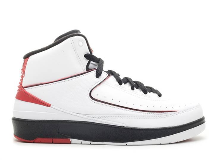 Air Jordan 2 Retro GS 'White Varsity Red' 2010