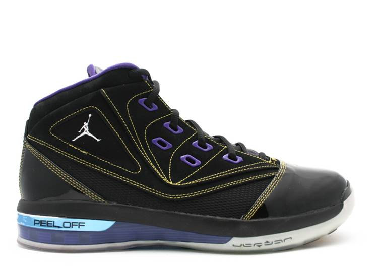 Jordan 16.5 Team 'Black Metallic'