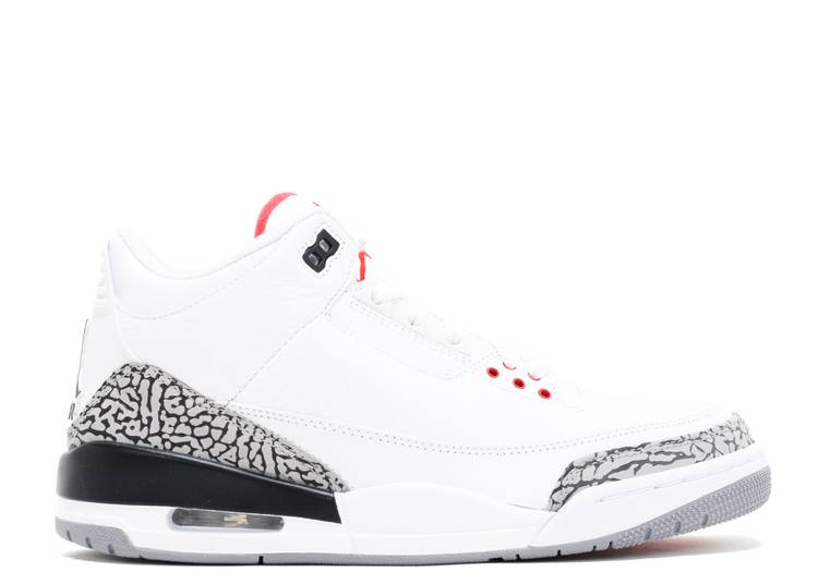 Air Jordan 3 Retro 'White Cement' 2011