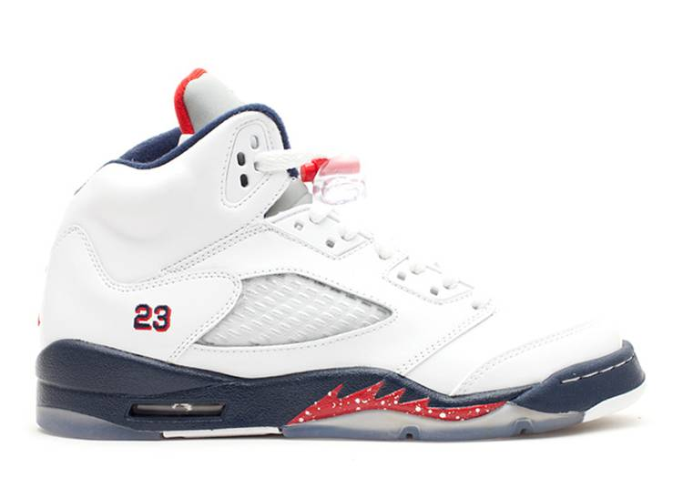 Air Jordan 5 Retro GS 'Olympic'