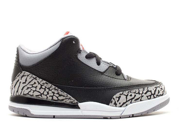 Air Jordan 3 Retro TD 'Cement' 2011