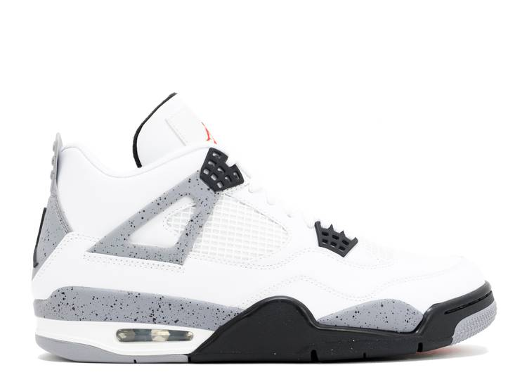"air jordan 4 retro ""white cement 2012 release"""