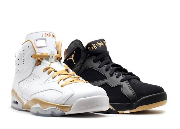 Air Jordan 7/6 Retro 'Golden Moments Pack'