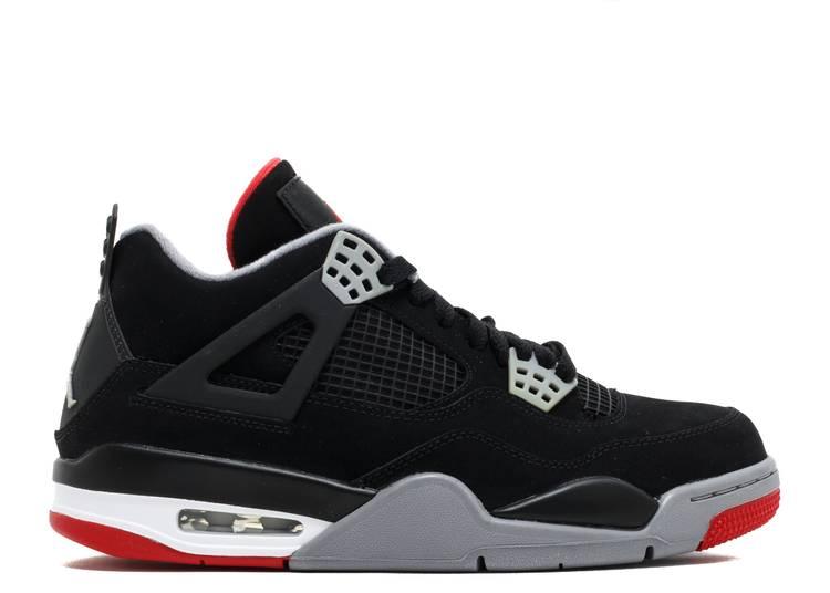 """air jordan 4 retro  """"bred 2012 release"""""""
