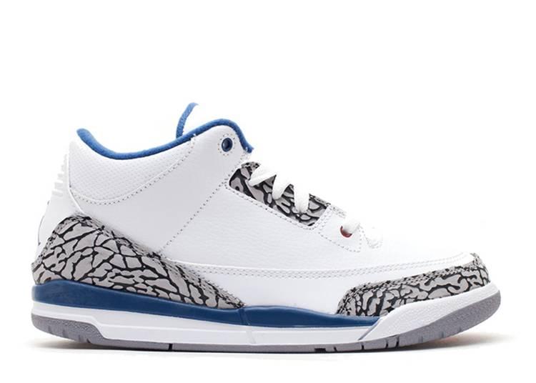 Air Jordan 3 Retro PS 'True Blue' 2011