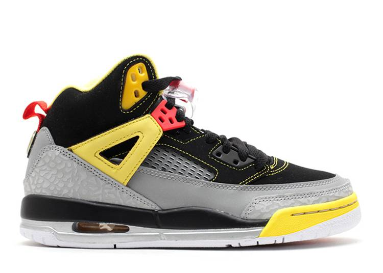 Jordan Spiz'Ike GS 'Black Red Yellow'