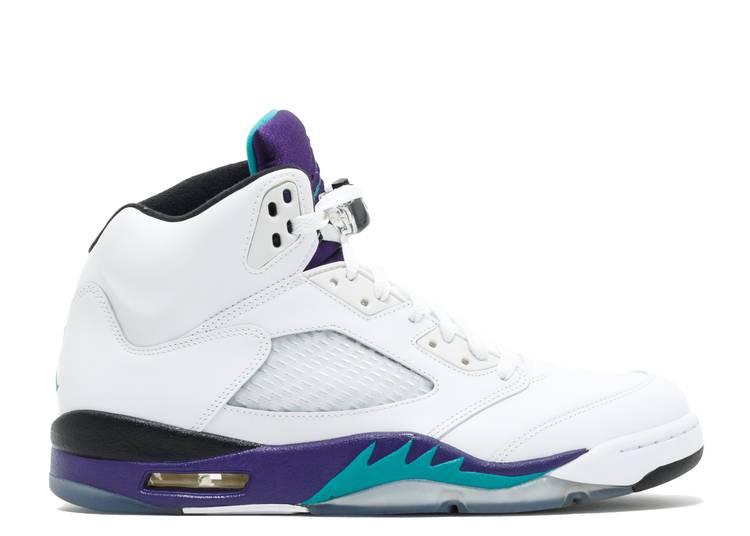 """air jordan 5 retro """"grape 2013 release"""""""