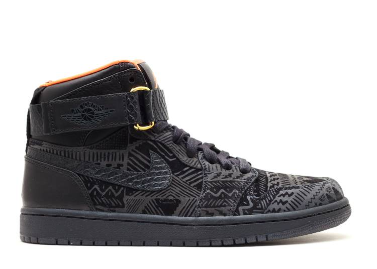 Just Don x Air Jordan 1 High Strap 'BHM'