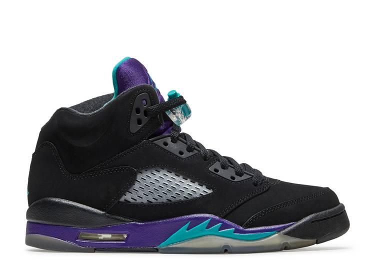 Air Jordan 5 Retro GS 'Black Grape'