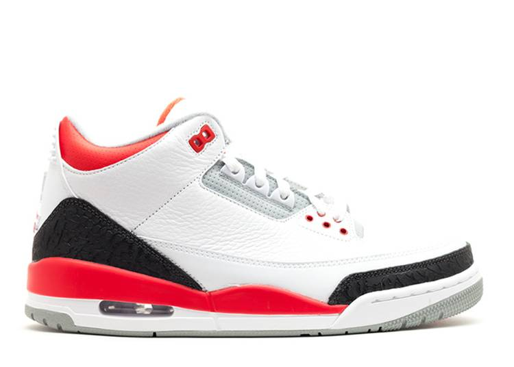 Air Jordan 3 Retro 'Fire Red' 2013