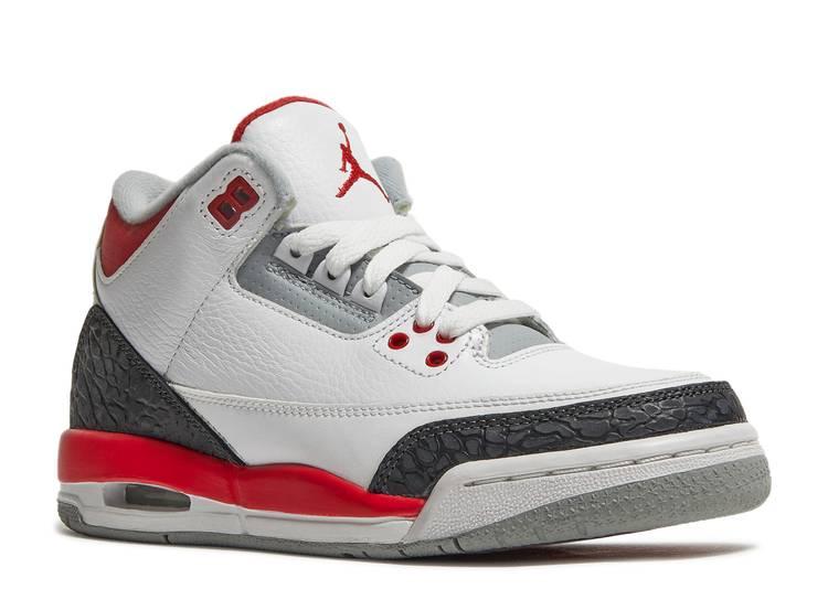 Air Jordan 3 Retro GS 'Fire Red' 2013