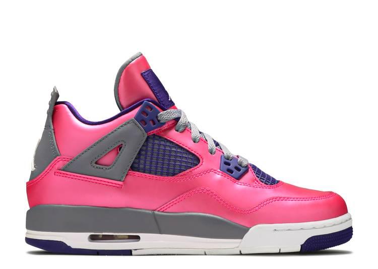 """girls air jordan 4 retro gs """"Pink Foil"""""""