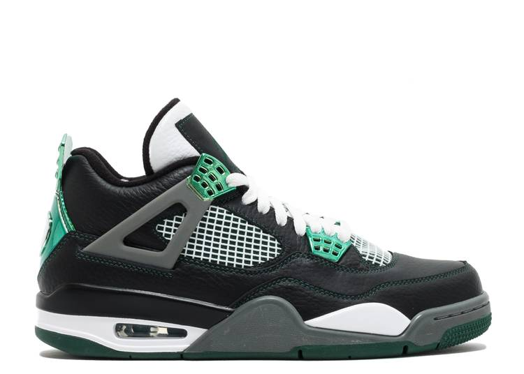 air jordan 4 noir or