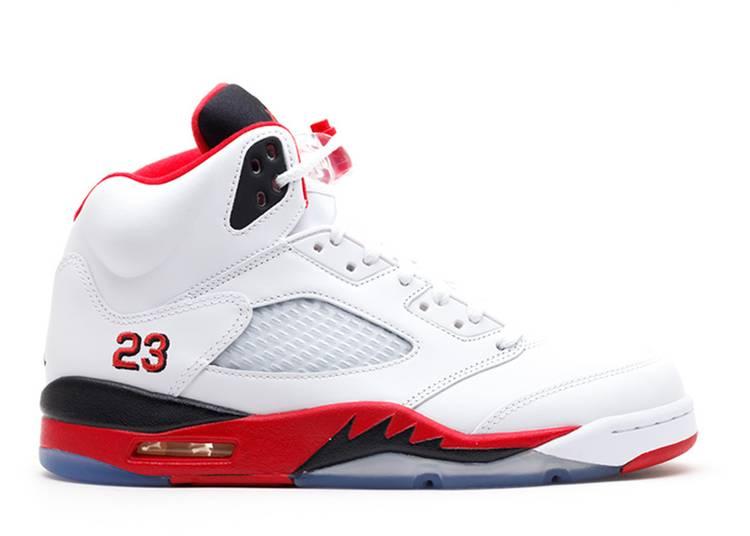 "air jordan 5 retro ""fire red 2013 release"""