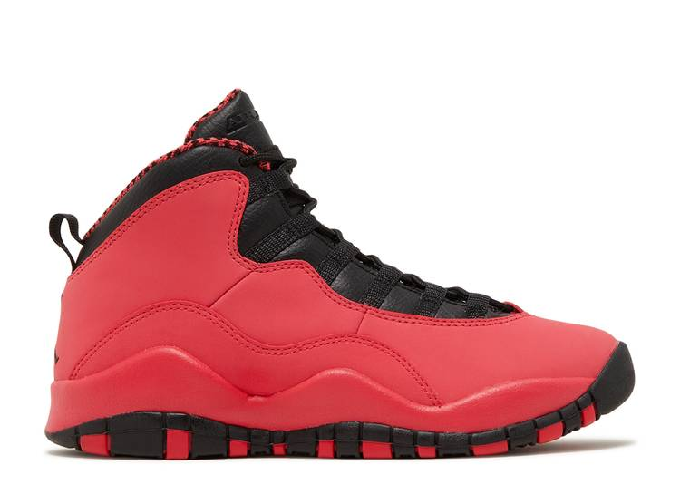 Air Jordan 10 Retro GG 'Fusion Red'
