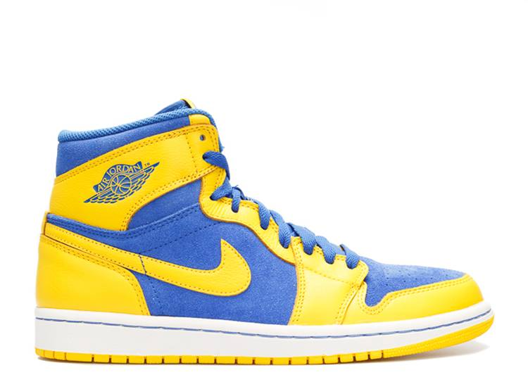 Air Jordan 1 Retro High Og Laney Air Jordan 555088 707 Varisty Maize Game Royal White Flight Club