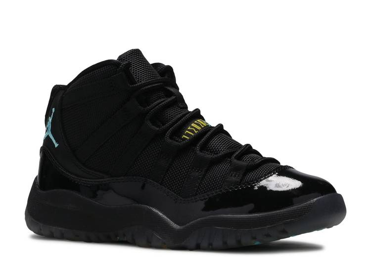 Vulgaridad matrimonio Degenerar  Air Jordan 11 Retro PS 'Gamma Blue' - Air Jordan - 378039 006 - black/gamma  blue-blck-vrsty mz | Flight Club