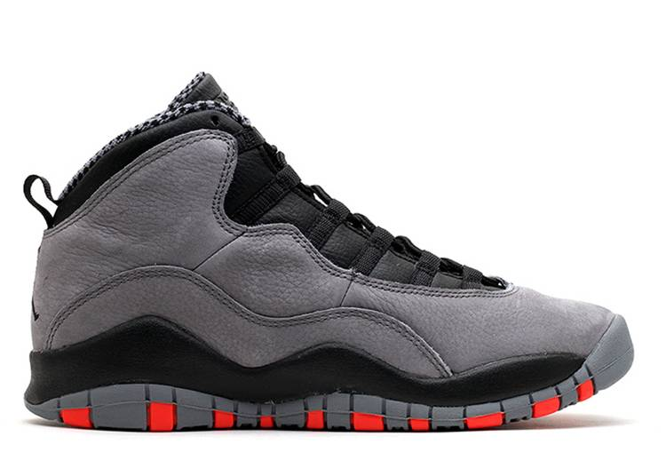 Air Jordan 10 Retro GS 'Cool Grey'