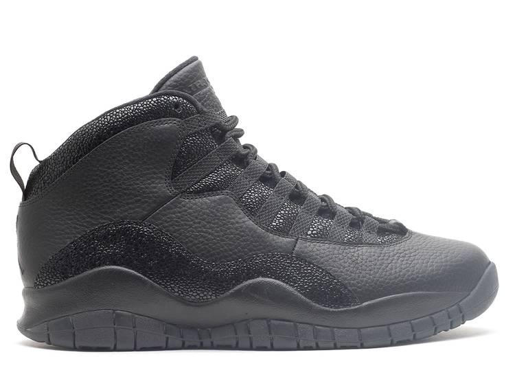 OVO x Air Jordan 10 Retro 'Black' 2014